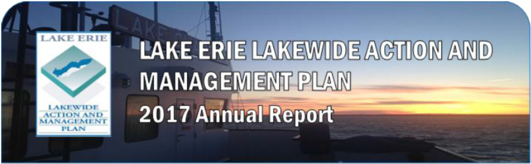 Lake Erie Lakewide Action and Management Plan 2017 Annual Report